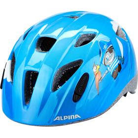 Alpina Ximo Helm Kinder blau